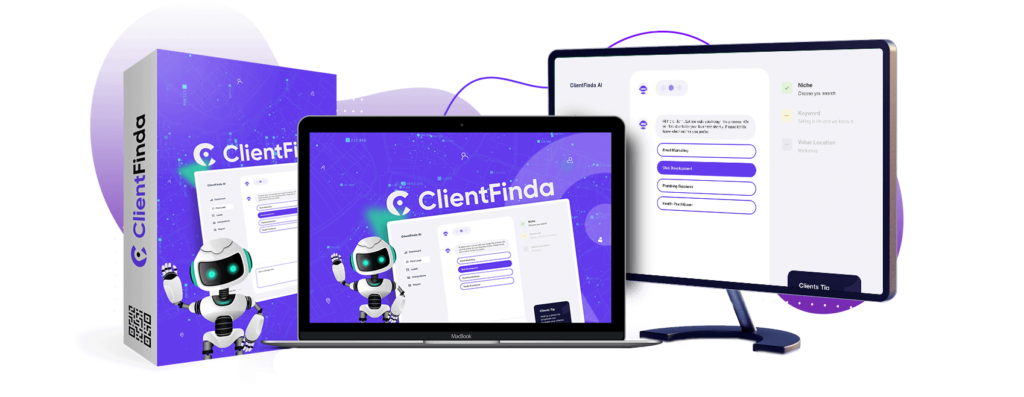 ClientFinda OTO 1, 2, 3 & 4 Links Review Demo Bonus WalkThrough Upsells Upgrades Software By Ifiok Nkem